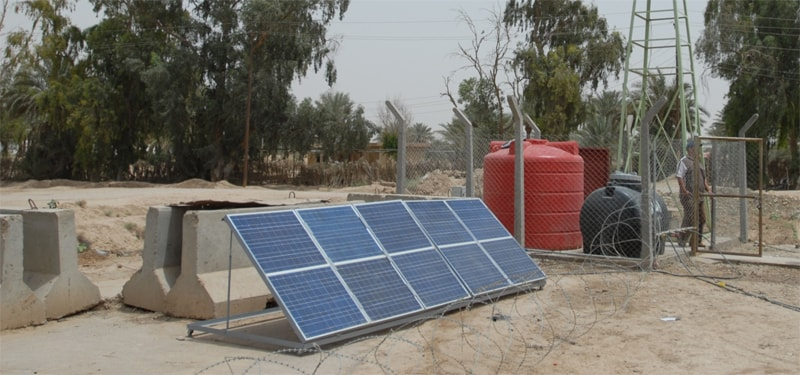 can purify water through solar energy